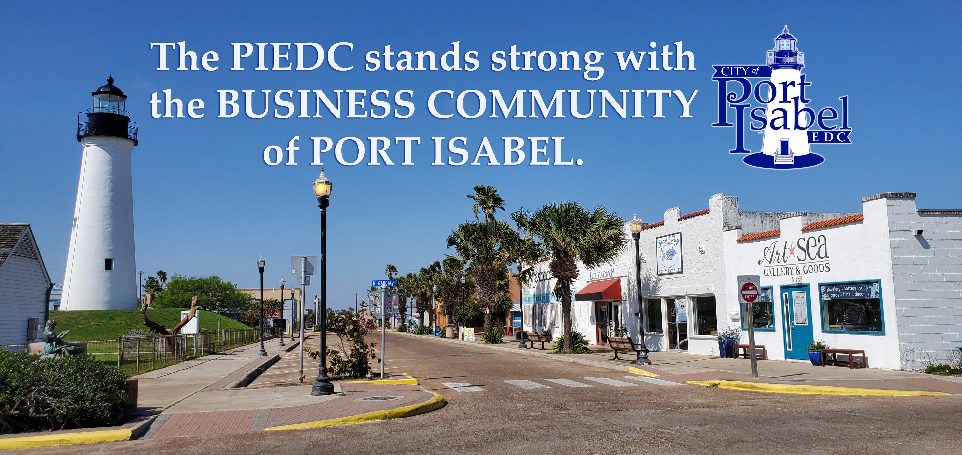 Port Isabel EDC supports our business community!